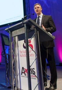 Mark Lever, NAS CEO speaking at an Axcis-sponsored NAS event