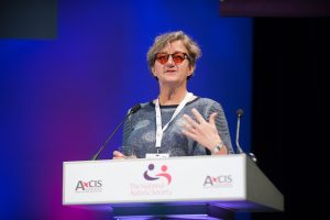 Sarah Hendrickx. The National Autistic Society's Professional Conference 2017, Harrogate International Centre.