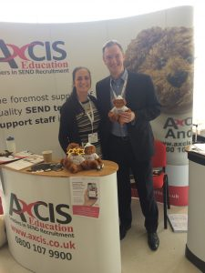 Mark Lever, NAS CEO (right) with Catherine Friel, Senior Director of Axcis at a recent NAS Conference.