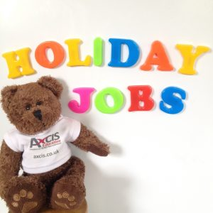 Find school holiday jobs with Axcis