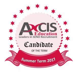 Candidate of the Term - Summer Term 2017